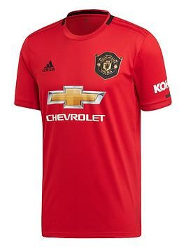 Adidas Manchester United 19 20 Home Shirt Red Red Size 3xl Men Red 3xl In 2020 Manchester United Soccer Manchester United Manchester United Home Kit