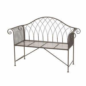 Siena Garden Gartenbank Bereno Metall Grau Unterverzinkt 130x47 5x95cm Gartenbank Gartenbank Gunstig Bank