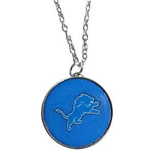 01ad4019 Detroit Lions NFL Officially Licensed Charm Necklace 18