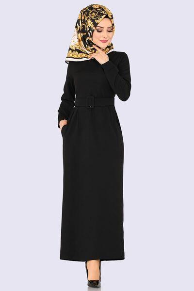 Tesettur Elbise Tesettur Elbise Fiyatlari Gunluk Tesettur Elbise Sayfa 12 Musluman Modasi Moda Stilleri Siyah Elbise