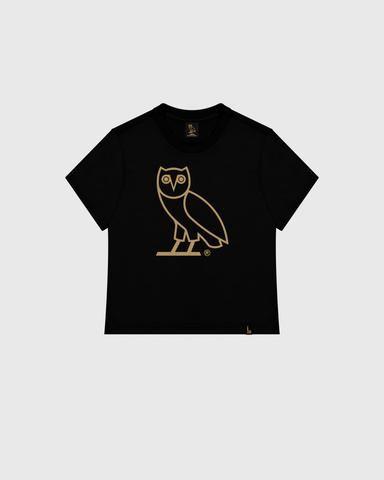 Women S Ovo Owl T Shirt Black Owl T Shirt Black Shirt Shirts