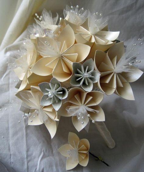 Bouquet Sposa Carta.Bouquet Sposa Senza Fiori Freschi Quali Alternative Fiori