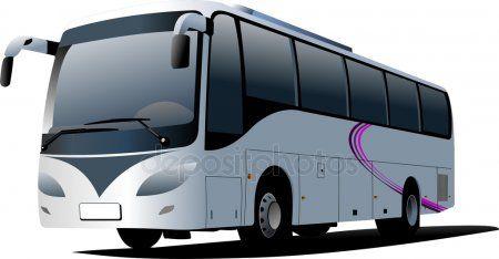 Blue City Bus Coach Stock Vector Sponsored Bus City Blue Vector Ad Blue City Travel Team Luxury Bus