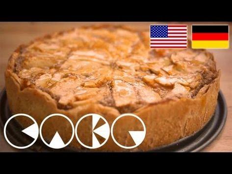 LECKERER APFELKUCHEN Rezept - YUMMY APPLE CAKE Recipe