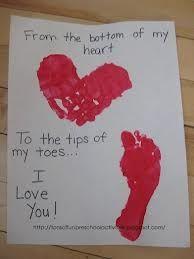 Keepsake with child's prints