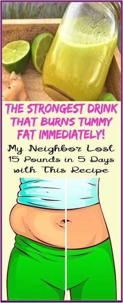 Fat Burning Drink Lose 15 Pounds In 5 Days With This Mixture