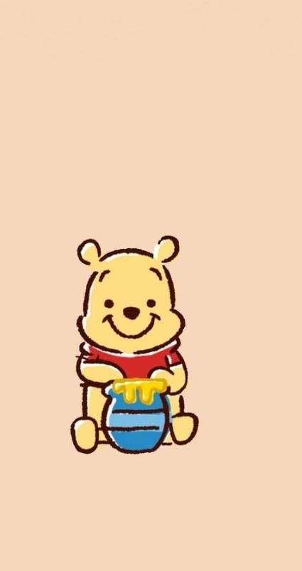36 Trendy Wall Paper Phone Disney Winnie The Pooh Cute Winnie The Pooh Winnie The Pooh Drawing Winnie The Pooh Background