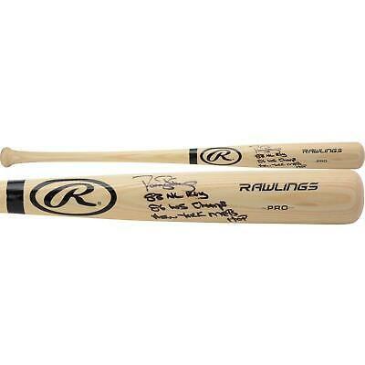 Autographed Darryl Strawberry Mets Bat Fanatics Authentic Coa Item 9861929 Darryl Strawberry Bats For Sale Baseball Bat