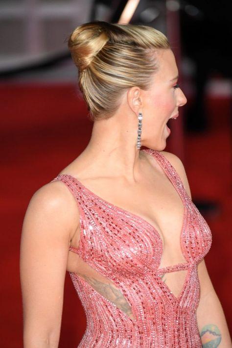 Scarlett Johansson at the EE British Academy Film Awards 2020