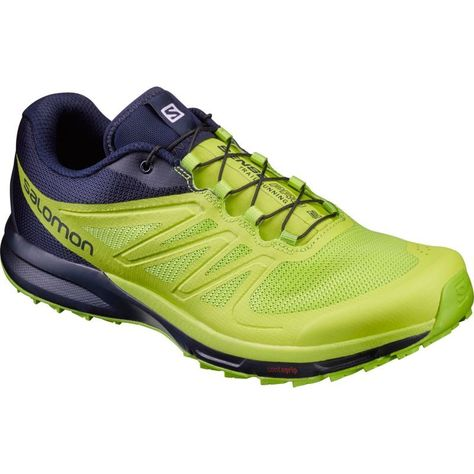 Salomon Men's Sense Pro 2 Trail Running Shoes, Green