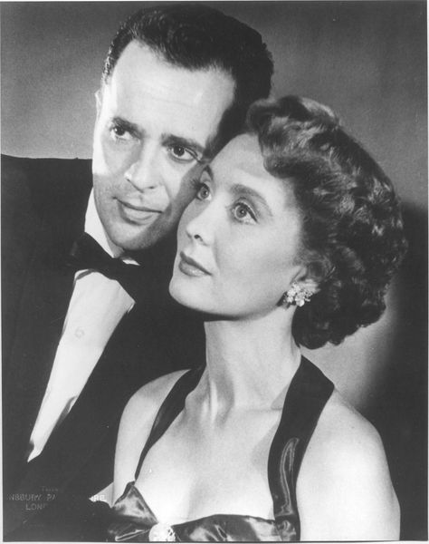 Larry Parks, Betty Garrett -- married 1944-1975 (his death)