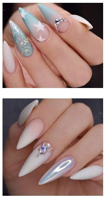 ACRYLIC NAIL DESIGNS for Christmas and The New Year 2020