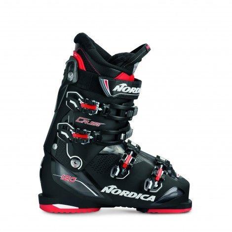Nordica Cruise 120 skischoenen heren black red | Laarzen