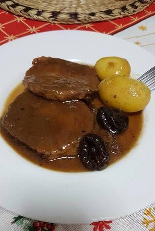 Redondo De Cerdo Relleno En Salsa De Vino Sansón Receta De Hortensia Alvarez Acal Receta Cerdo Relleno Recetas De Comida Comida Deliciosa