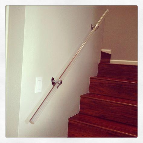 Rope Modern Handrail Bracket 1.5, Nickel