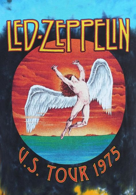 What I have here is a Full Color Art Poster of Led Zeppelin in US Tour 1975 on Poster stock 13x13. These are Full posters of high quality. Made in USA. This Rock Band Picture will always be a classic and was great in its HAY DAY! THE ART WORK WILL BE FULLY INCLUDED Poster, *THIS