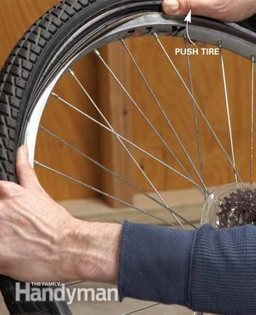 How To Change A Bicycle Tire Bicyclerepairtools Bicycle Tires