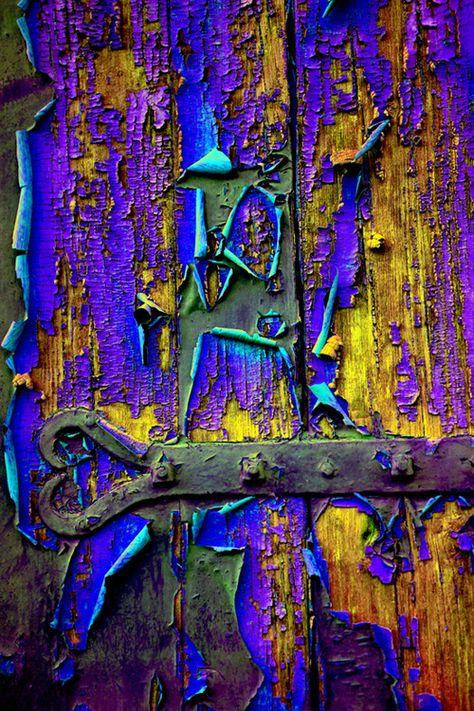 Pealing paint...amazing! Gerard Frances