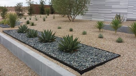 Modern Desert Landscaping Desertlandscape Modern Garden