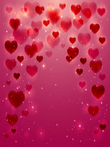 Buy discount Kate Valentine's Day Pink Heart Photography Backdrop Shiny Photo Studio Props,Kate backdrop for photo booth,background photography No wrinkle Fabric backdrop seamless