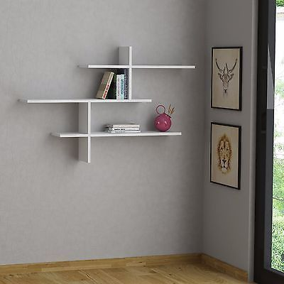 Wall Shelves Open Airy Modern With Images Modern Wall