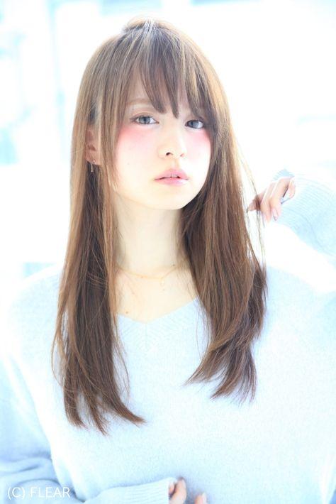 カットが命!!乾かしただけでまとまるお手入れ楽チンストレートヘア#松本Style