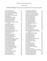 Ambleside Online Year 1 Checklist for Literature