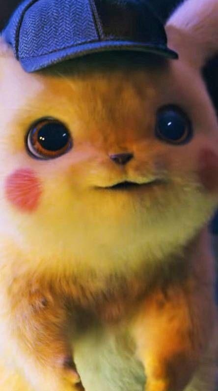 Detective Pikachu 4k Cute Pikachu Pikachu Pikachu Wallpaper Iphone