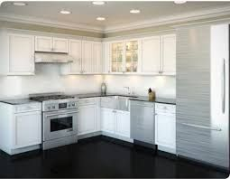 L Shaped Kitchen Design Without Window Ksa G Com