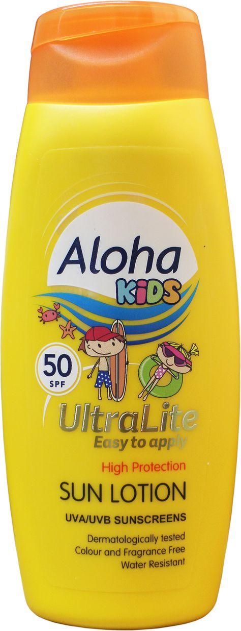 Aloha Sun Lotion For Kids SPF 50 250ml