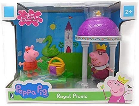 Peppa Pig Prince George Figurine PLAYSET With Dinosaur Rare Set