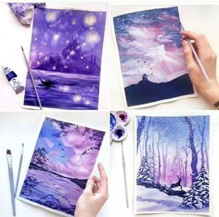 Painting Watercolor Ideas Mobiles 49 Ideas Painting Art