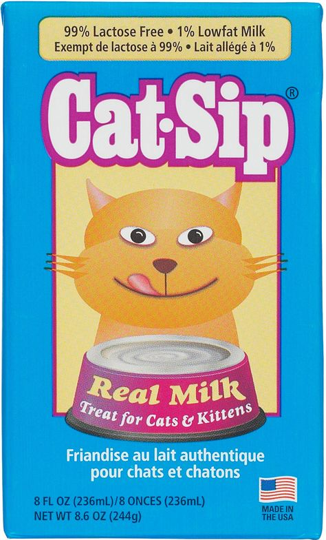 Cat Sip Real Milk Treat For Cats Kittens 8 Fl Oz Cats Kittens Kittens Cats