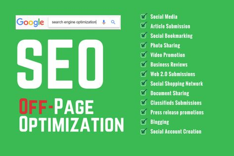 Seojennifer1: I will do high quality dofollow backlinks for off page SEO for $10 on fiverr.com