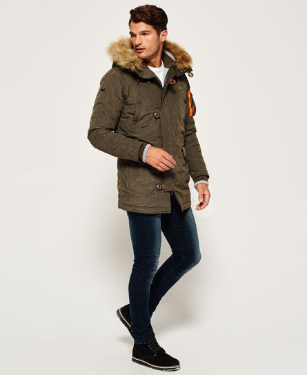 Details about New Mens Superdry Sd 3 Parka Coat Grey