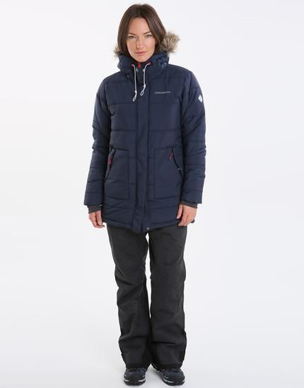 Didriksons Womens Eris Jacket Navy   Simply Hike UK