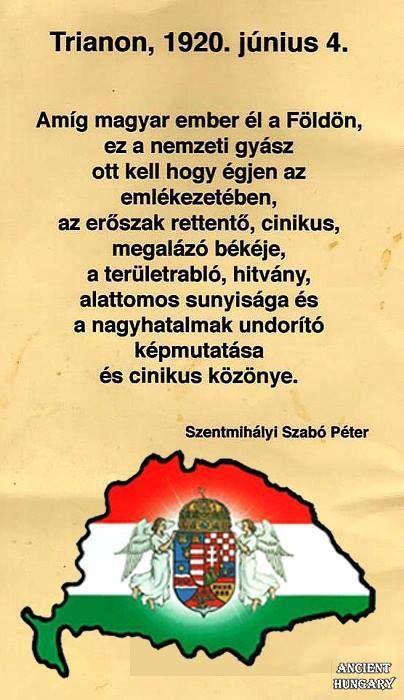 trianon versek idézetek Pin by Farkas Ági / Mágika75 on minden   Hungary history, Hungary