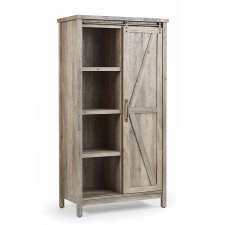 Home Farmhouse Storage Cabinets Tall Cabinet Storage Bookcase Storage