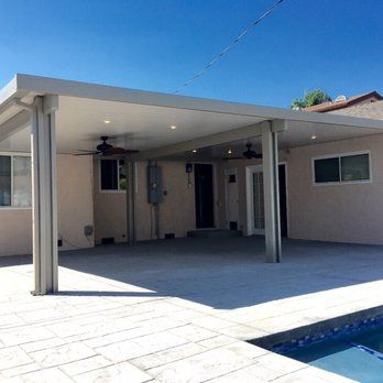 Orange County Ca What A Great Way To Make A Perfect Space Multi Span Alumawood Patio Cover 2 Tone Color Yelp Outdoor Covered Patio Patios Patio