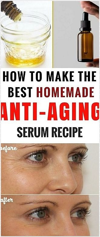 How To Make Natural Anti Wrinkle Cream Homemade Anti Aging Serum Natural Anti Wrinkle Cream Anti Aging Homemade