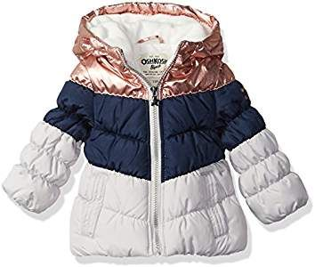 OshKosh BGosh Girls Perfect Puffer Jacket