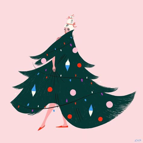 Christmas Illustration Pinterest.Fabulous Holidays With Abd In 2019 Pinterest