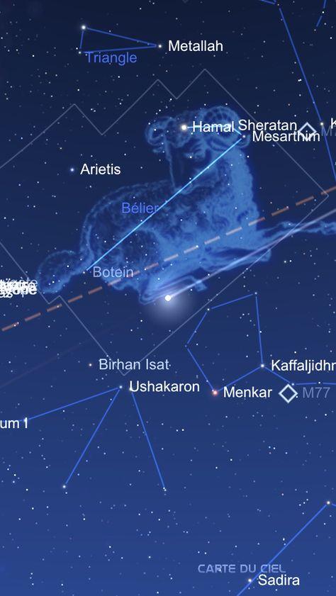 Constellation Avec Images Trou Noir Carte Du Ciel La Voie Lactee