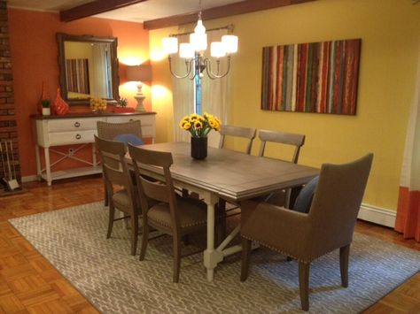 As an extra bonus HGTV HOME brought a new dining room to the family as well!