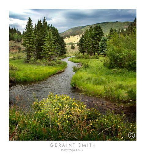 Comanche and Costilla Creeks in the Valle Vidal, NM