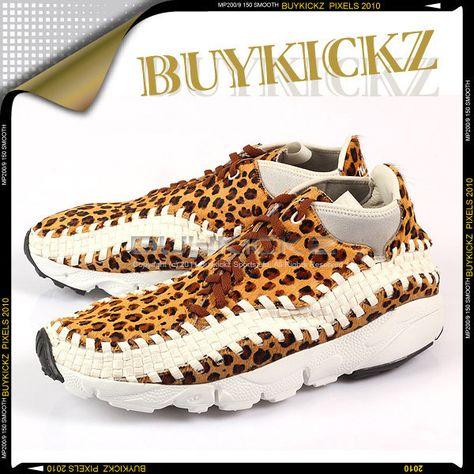competitive price 50367 2f5a3 Nike Air Footscape Woven Chukka PRM Grain White