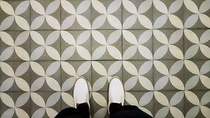 Full Tile Sample Saint Agatha Vintage Moroccan Porcelain Wall