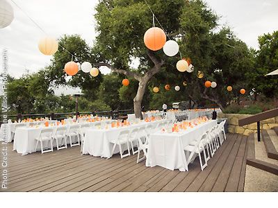 Style Me Pretty Real Wedding Ca Santa Barbara Ric Grove Elings Park Reception Decor Paper Lanterns