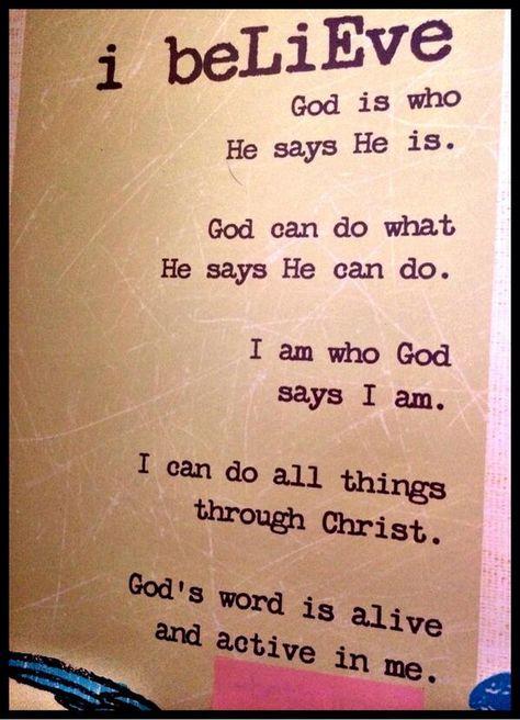 Beth Moore, Believing God