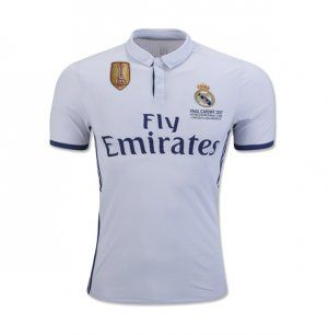 Real Madrid C F 2016 17 Season Home Ucl Final Los Blancos Jersey K406 Real Madrid Uefa Champions League Madrid